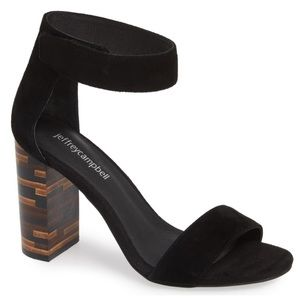 NWOT Jeffrey Campbell Statement Heel Sandals